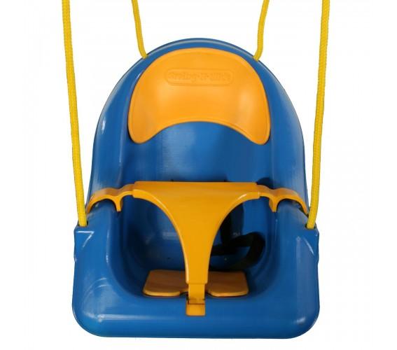 נדנדה לתינוק כחול צהוב (4)